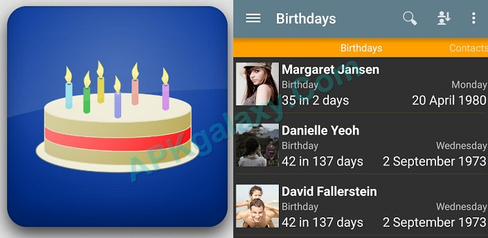 Birthdays Apk