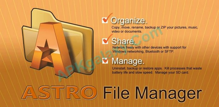 ASTRO File Manager with Cloud PRO