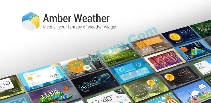 Amber Weather & Clock Widget Apk