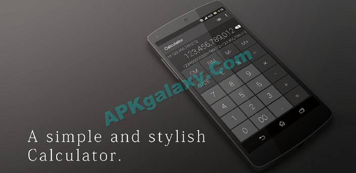 Calculator – Simple & Stylish PRO Apk