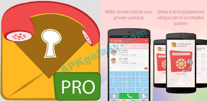 Hide SMS and Call Recorder Pro Apk