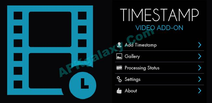 Video Timestamp Add-on Apk