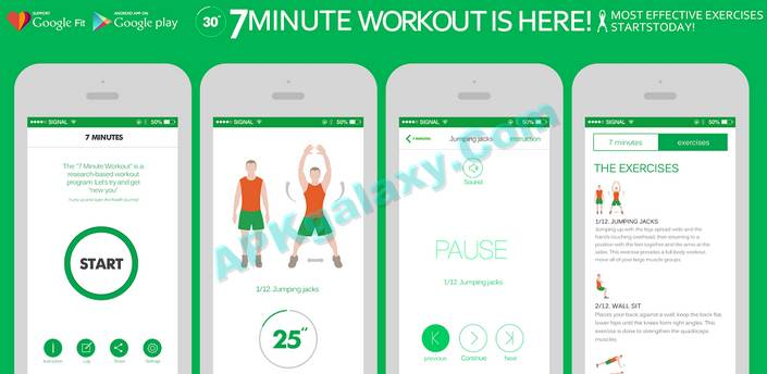 7 Minute Workout FULL Apk