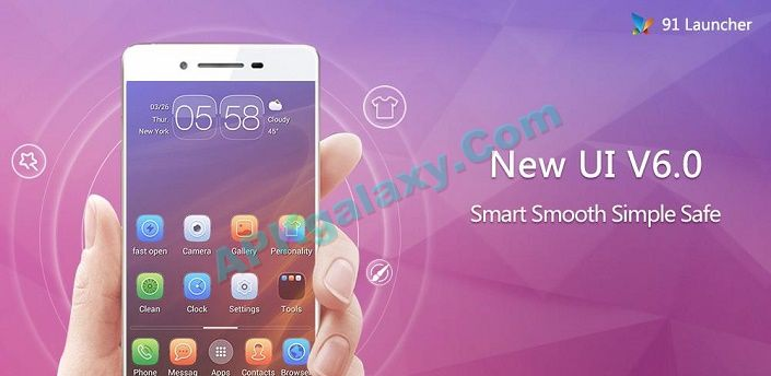 91 Launcher- Smooth Smart Apk