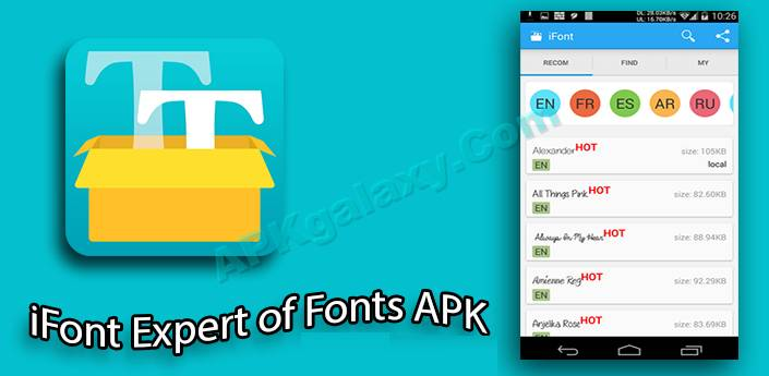 iFont (Expert of Fonts) Apk