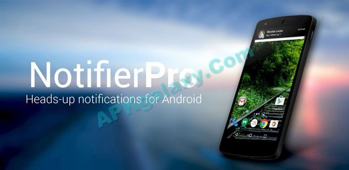 NotifierPro Heads-up Apk