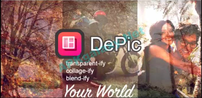 DePic PRO Transparent Collage Apk