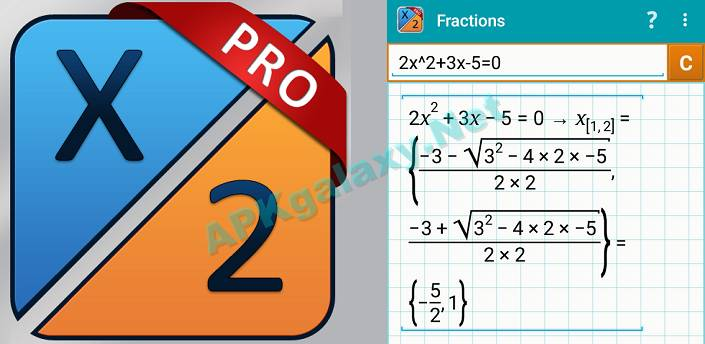 Fraction Calculator Mathlab PRO Apk