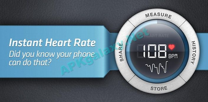 Instant Heart Rate – Pro Apk