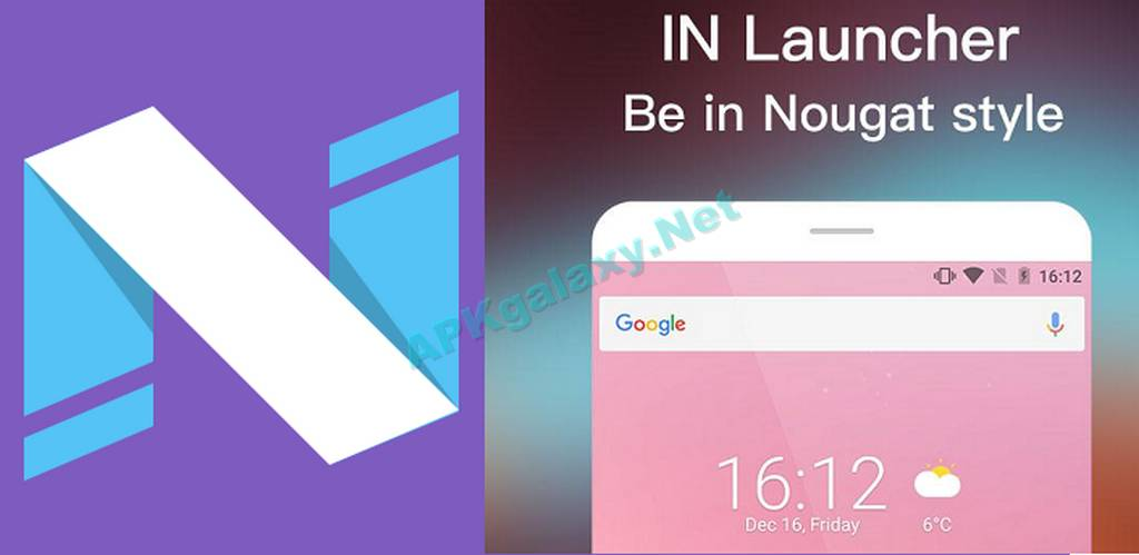 IN Launcher – Nougat 7.1 style Apk