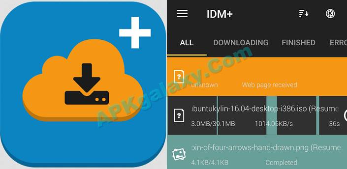 IDM+ Fastest download manager Apk