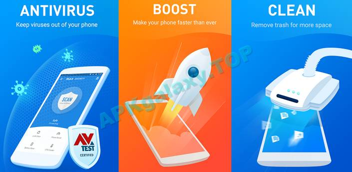 Free Antivirus 2017 – MAX Security Apk
