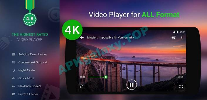XPlayer (Video Player All Format) Apk