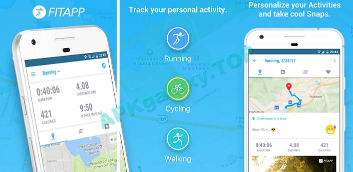 FITAPP Running Walking Fitness Premium Apk
