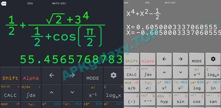 Scientific Natural Calculator N+ FX 570 ES VN PLUS Apk