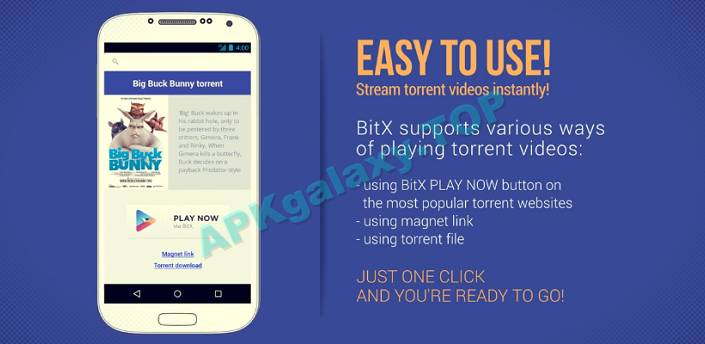BitX Torrent Video Player Pro Apk