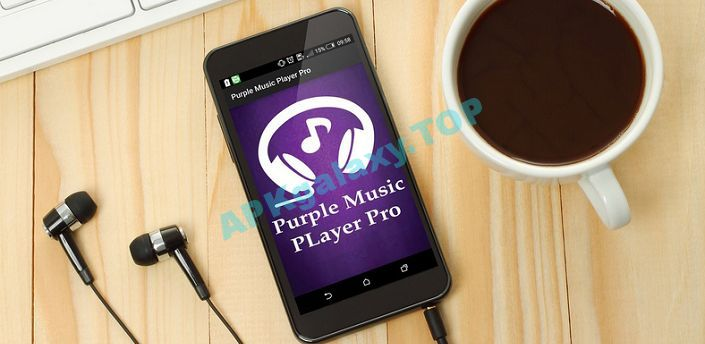 Purple Player Pro Apk