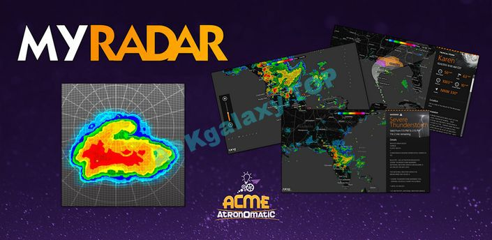 MyRadar Weather Radar Pro Apk