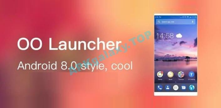 OO Launcher for Android O 8.0 Apk
