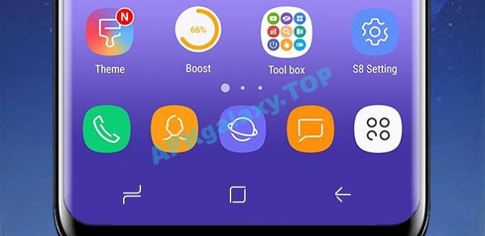 SS S8 Launcher for Galaxy S8 Apk