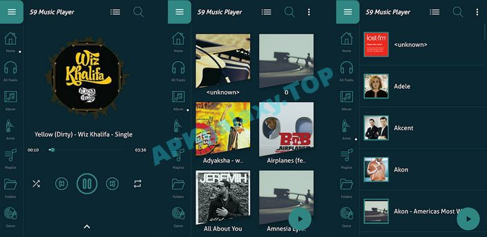 S9 Music Player Apk