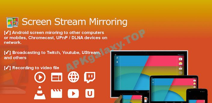 Screen Stream Mirroring Apk