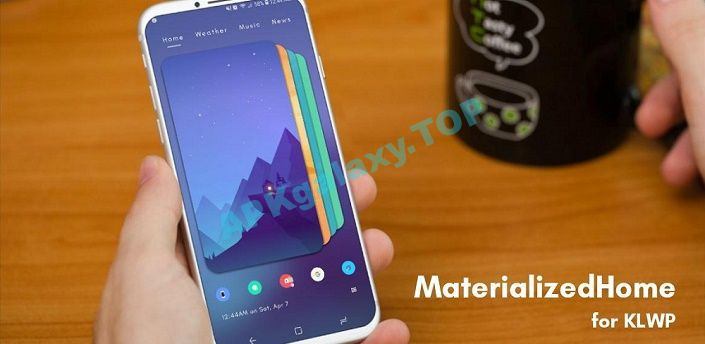 MaterializedHome for KLWP Apk