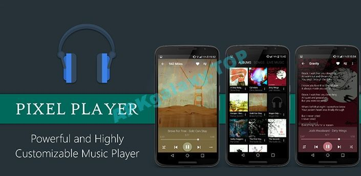 Pixel+ Music Player Apk