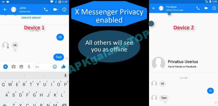 X Messenger Privacy Premium Apk