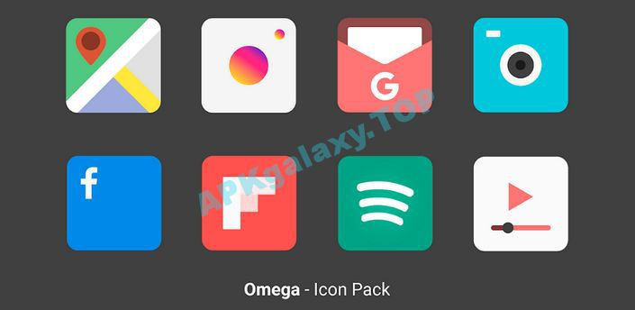 Omega – Icon Pack Apk
