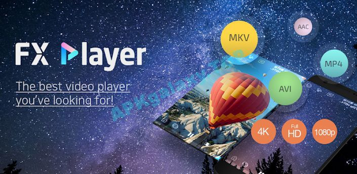 FX Player – video media player Apk