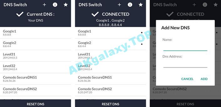 DNS Switch – Unlock Region Restrict Apk