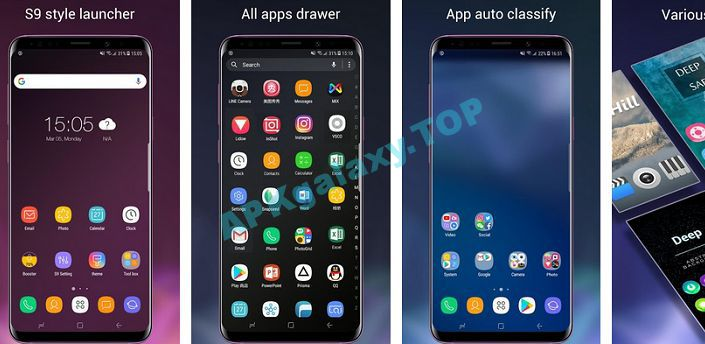 Super S9 Launcher for Galaxy S9 S8 launcher Apk