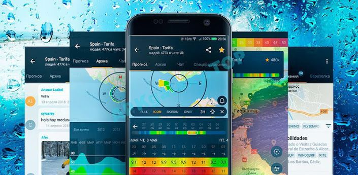 WINDY APP wind forecast & marine weather Apk