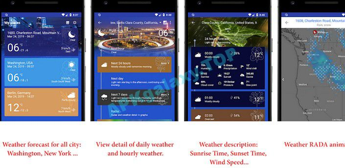 Now Weather Pro Apk