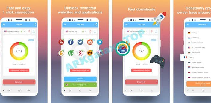 USA VPN – Get free USA IP Apk