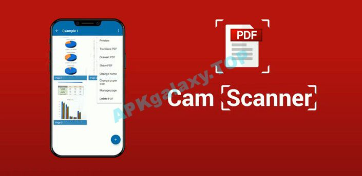 Cam Scanner – Scan to PDF file – Document Scanner Apk