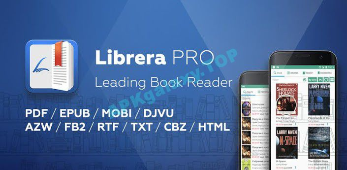 Librera PRO – Book reader and PDF Apk