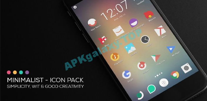 Minimalist – Icon Pack Apk