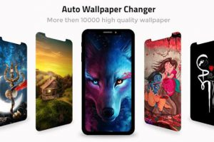 Auto Wallpaper Changer -Daily Background Changer Apk