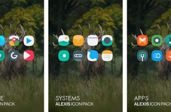 Alexis Icon Pack Clean and Minimalistic Apk