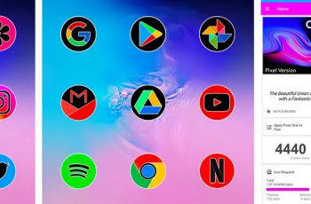 Pixel One Ui Fluo – Icon Pack Apk