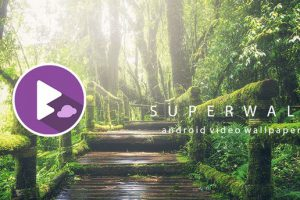 SuperWall Video Live Wallpaper Apk