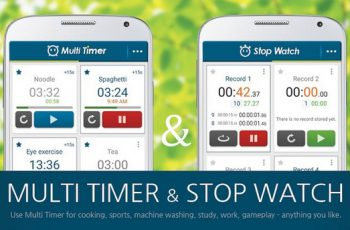 Multi Timer StopWatch Apk