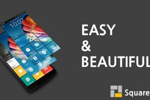Square Home 3 – Launcher Windows style Apk