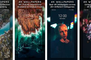 4K Wallpapers – Auto Wallpaper Changer Apk