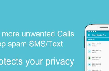 Call Blocker – Blacklist SMS Blocker Pro Apk