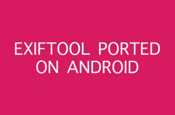 ExifTool – view edit metadata of photo and video Apk