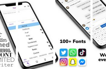 Fonts Fonts and Typeface for Instagram Whatsapp Apk