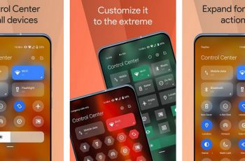 Mi Control Center Notifications and Quick Actions Apk